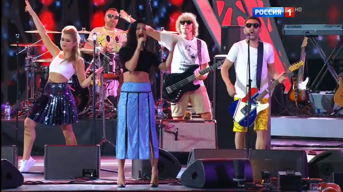 Новая волна 2016: выступление группы Ленинград