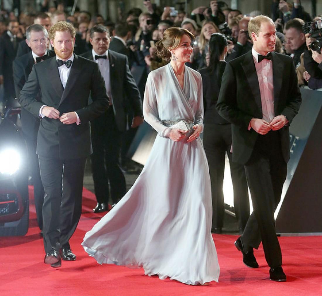 Кейт Миддлтон, принц Уильям и Гарри