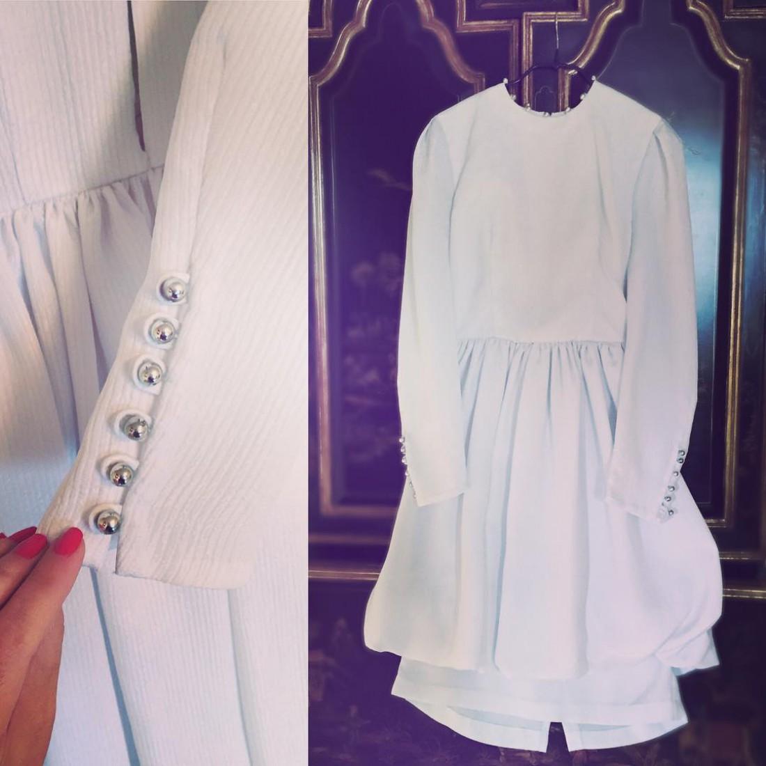 Платье Ирины, которое она продает