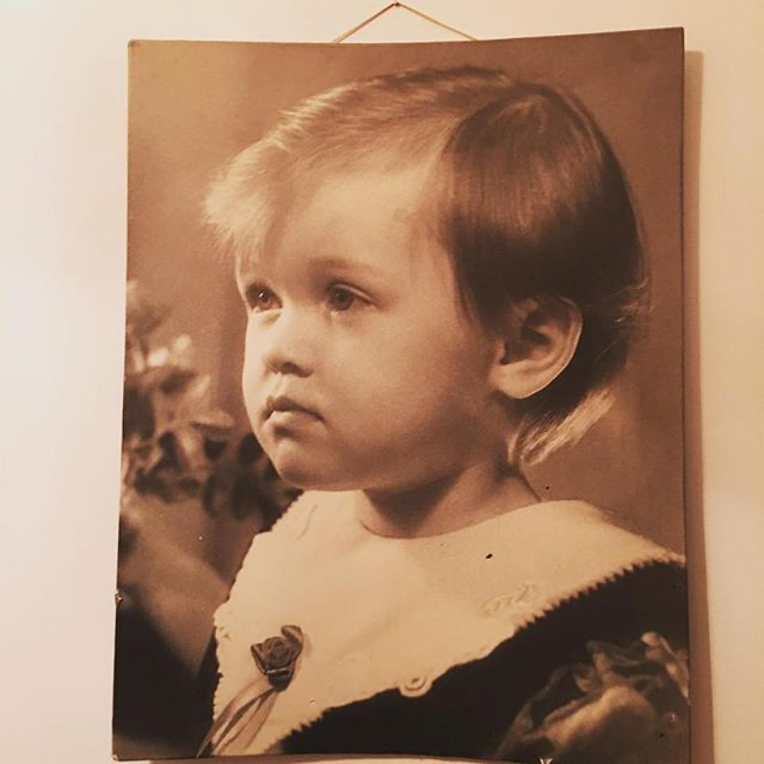 Маша в детстве. 1995 год
