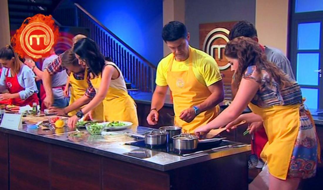 МастерШеф 6 сезон 13 выпуск: желтые готовили блюда французской кухни