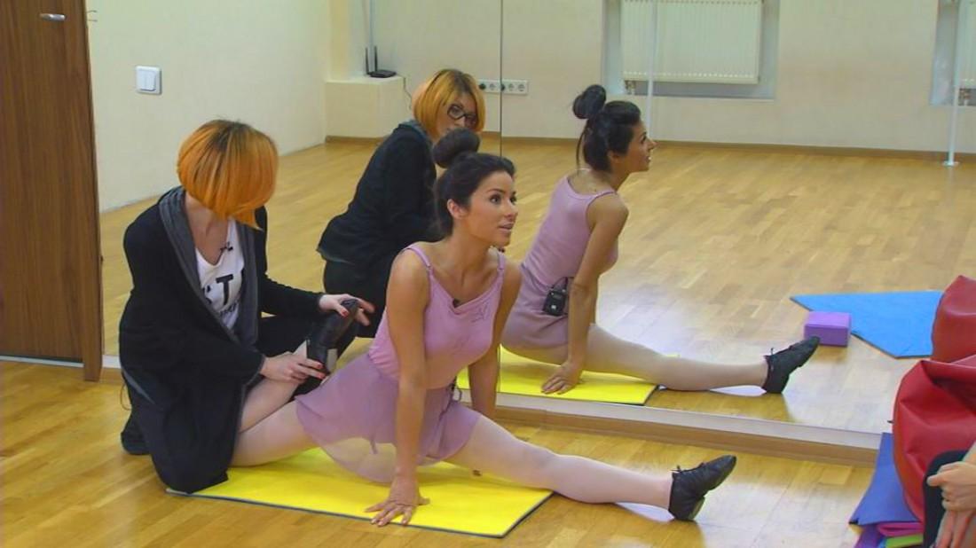 Злата Огневич уже три года занимается в балетной школе