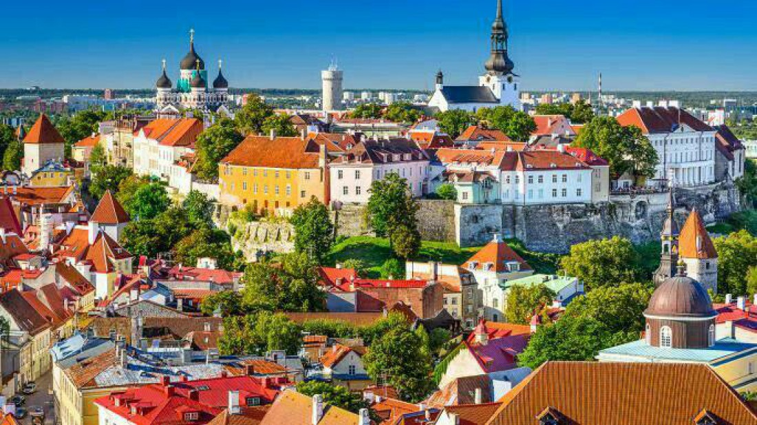 Самая старая часть города Таллин
