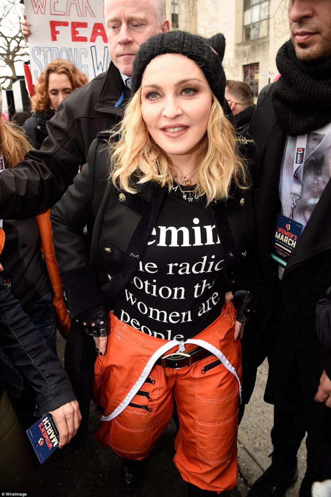 Певица Мадонна грубо высказалась в сторону Трампа