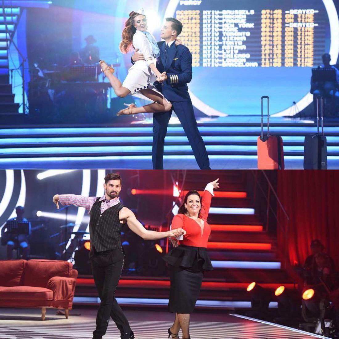 Танці з зірками: Александр Скичко и Анна Паламарчук, Наталья Холоденко и Виталий Загоруйко