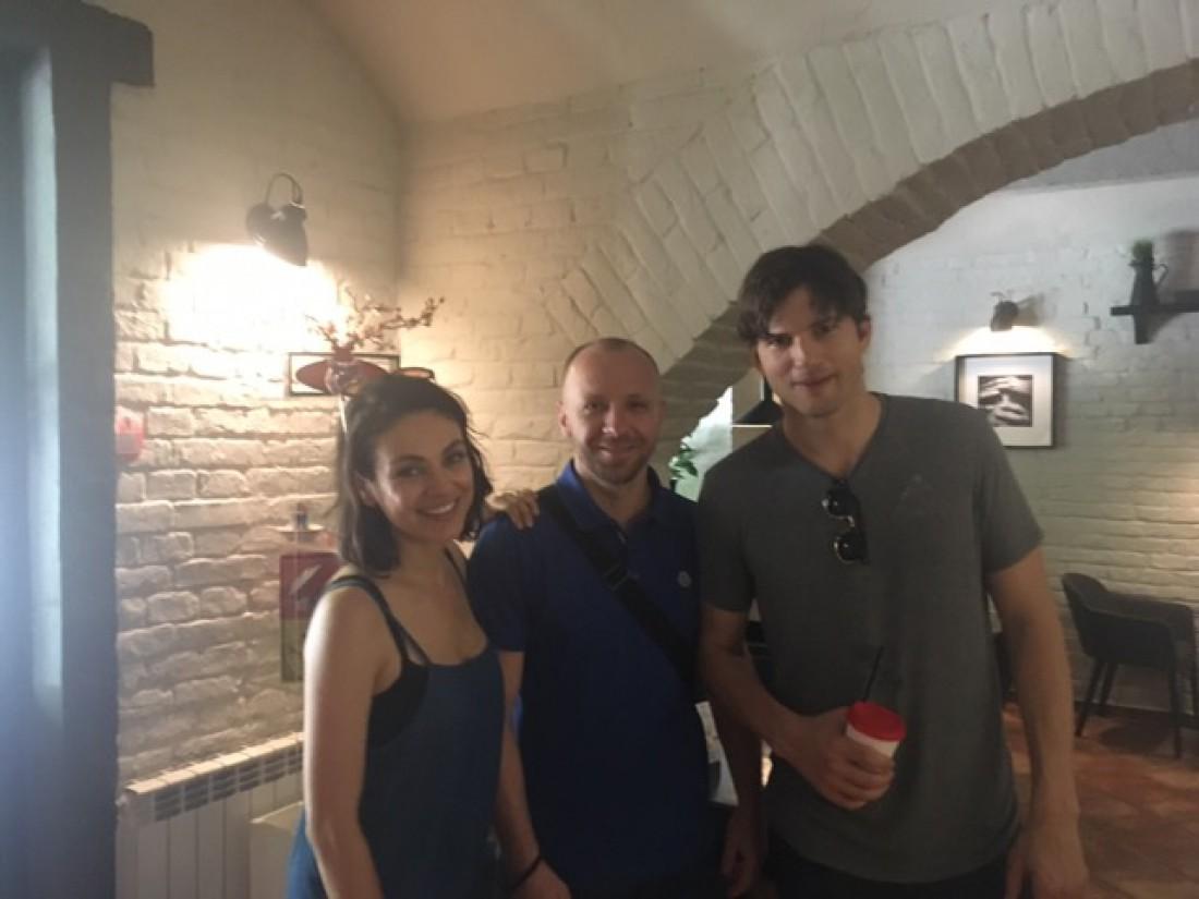 Міла Куніс побувала в Чернівцях, поговорила суржиком та захотіла в українське кіно