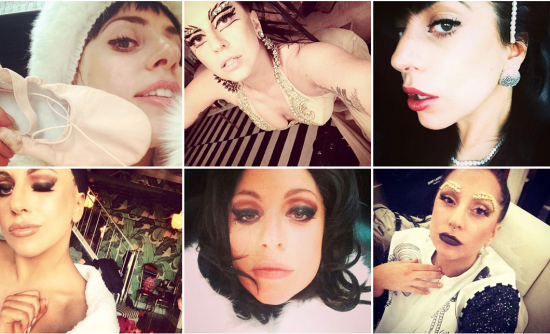 Lady Gaga сделала 50 селфи ради Shiseido