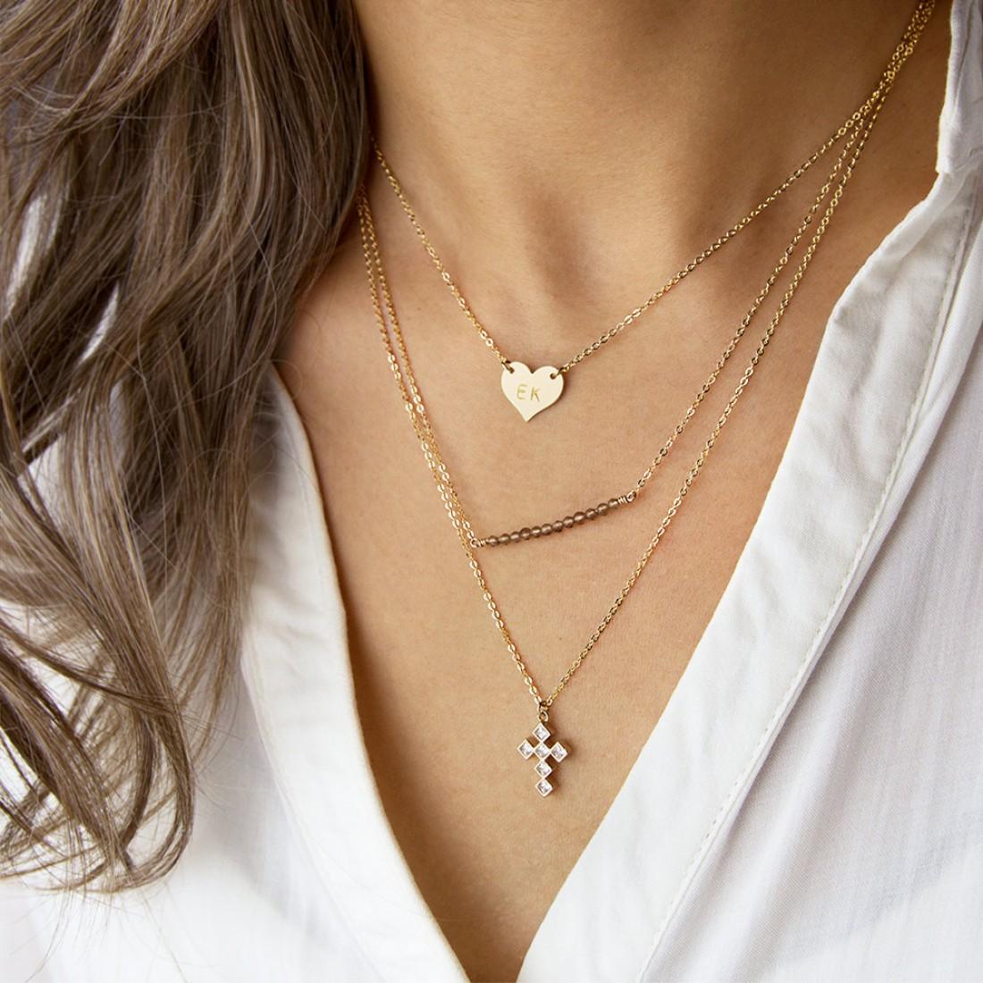 Многослойные ожерелья