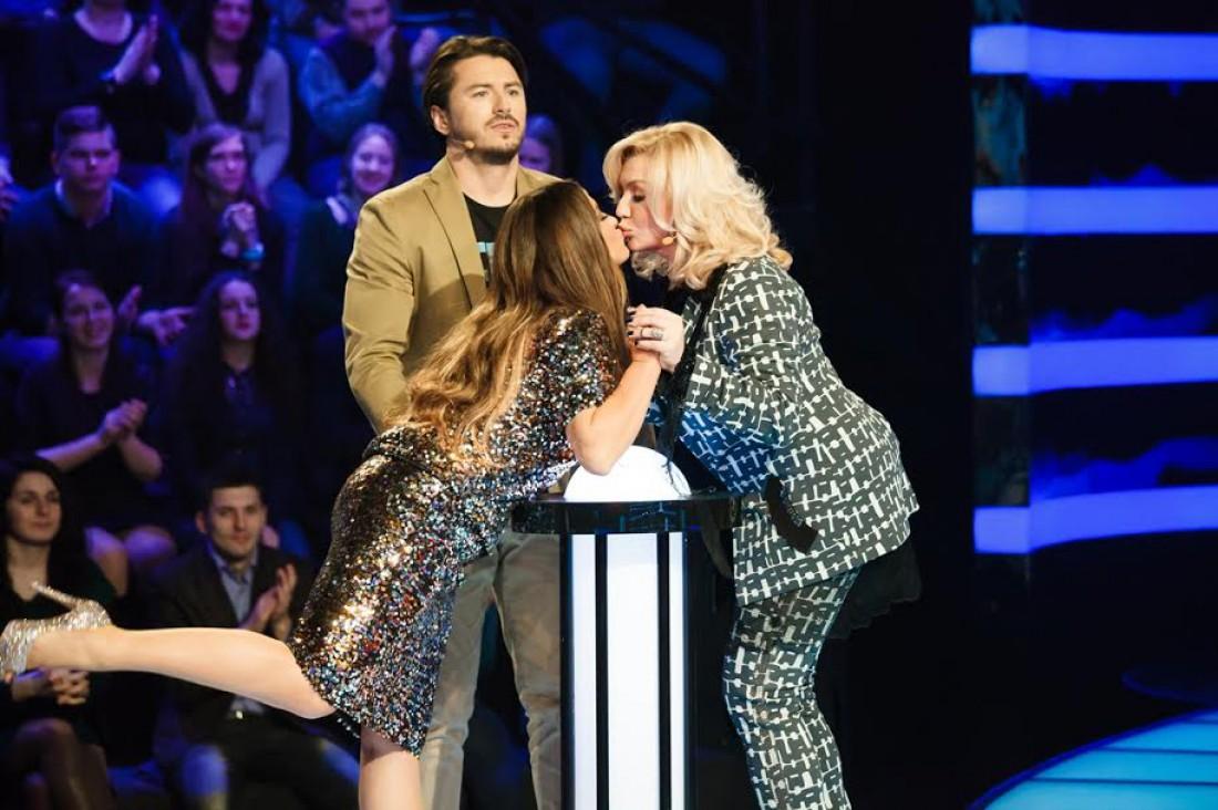Поцелуй Ирины Билык и Натальи Могилевской в 2016 году