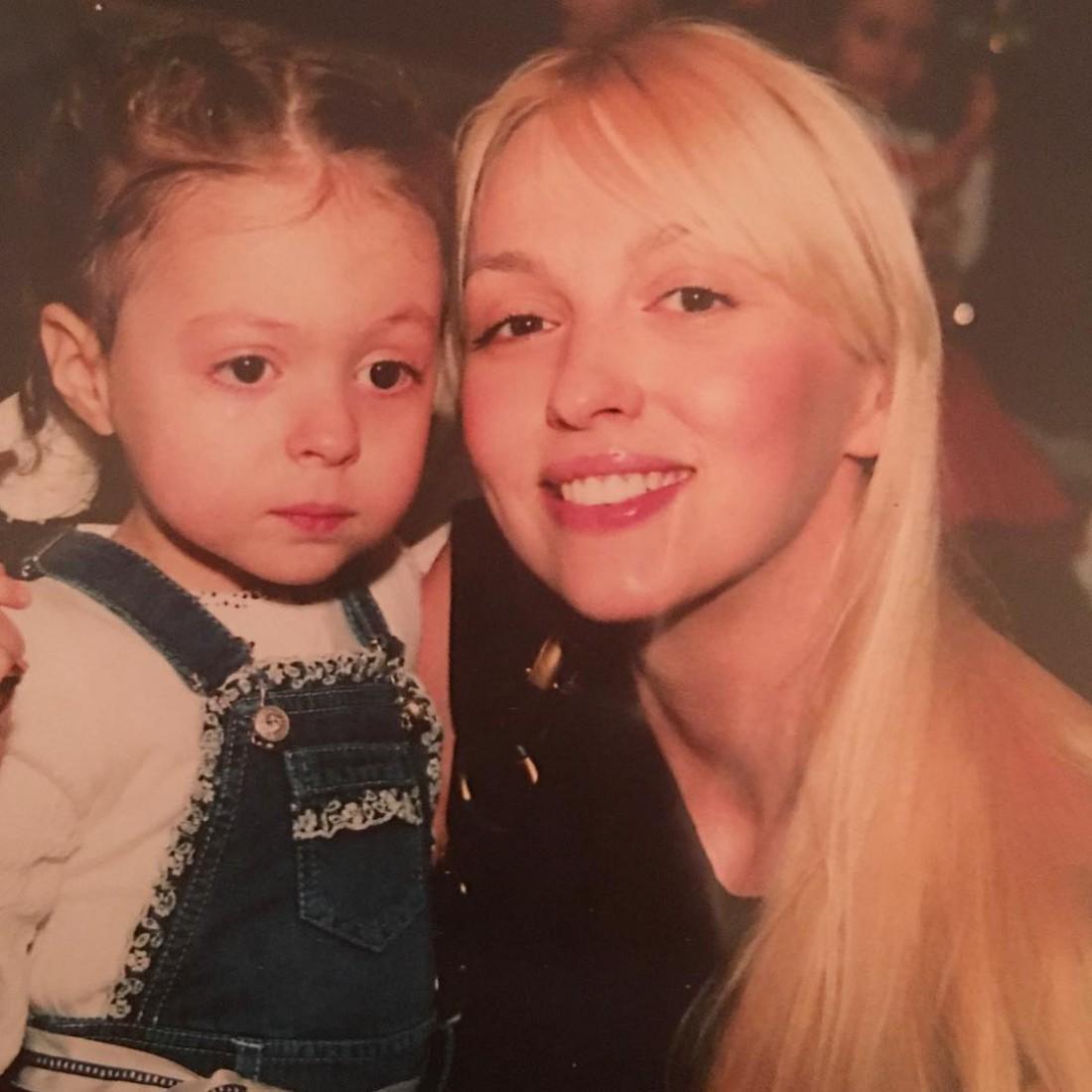 Полякова с Машей