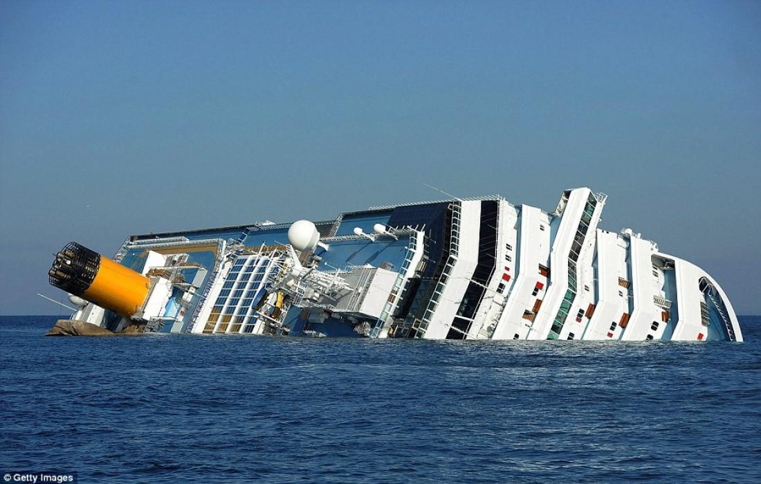 Costa Concordia спустя четыре года после крушения