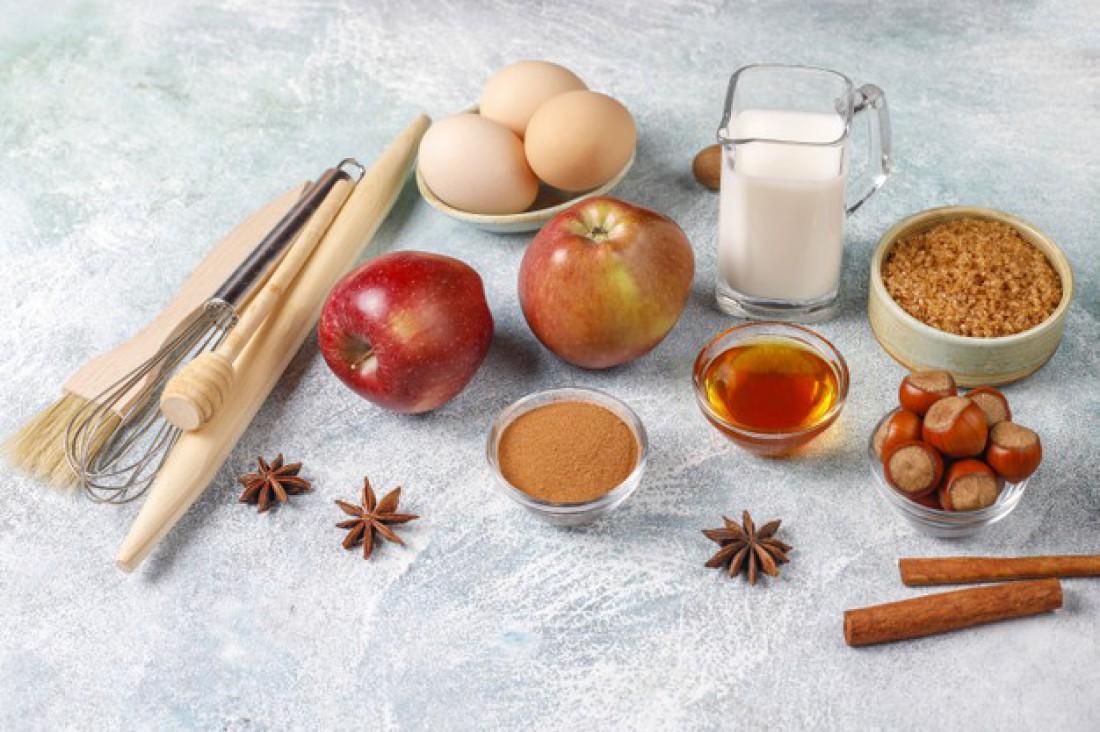 Штрудель с яблоками по-венски: Рецепт со слоеным тестом