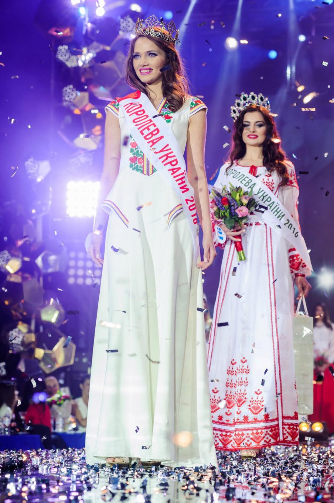 Победительницей конкурса Королева Украины стала Вероника Михайлишин