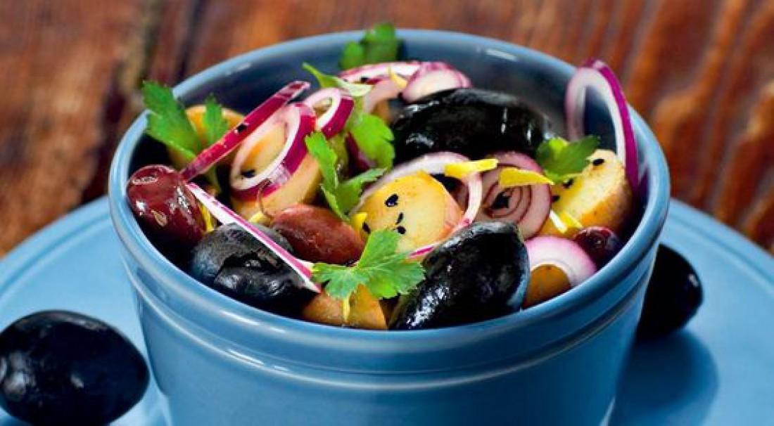 Картофельный салат по-мароккански