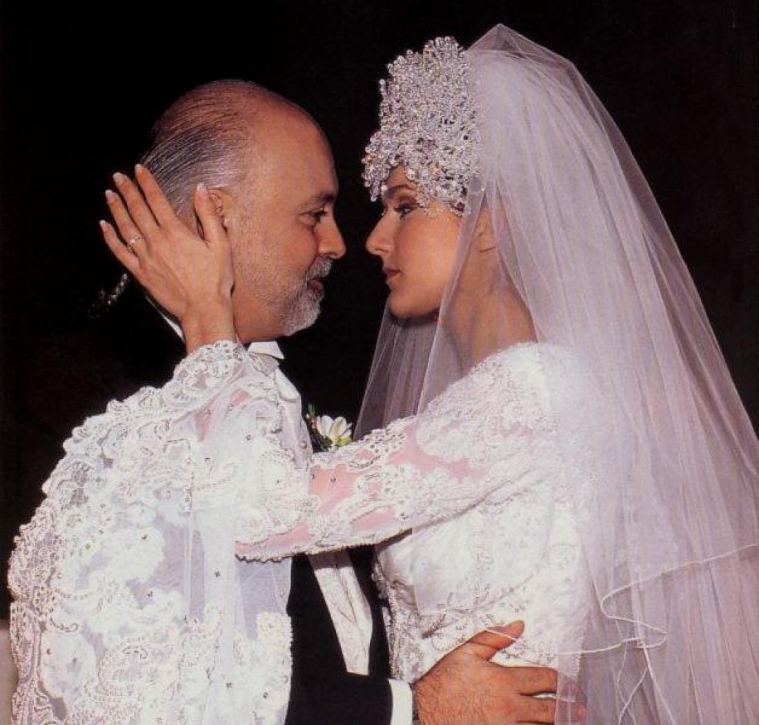 Свадьба Селин и Рене, 1994 год