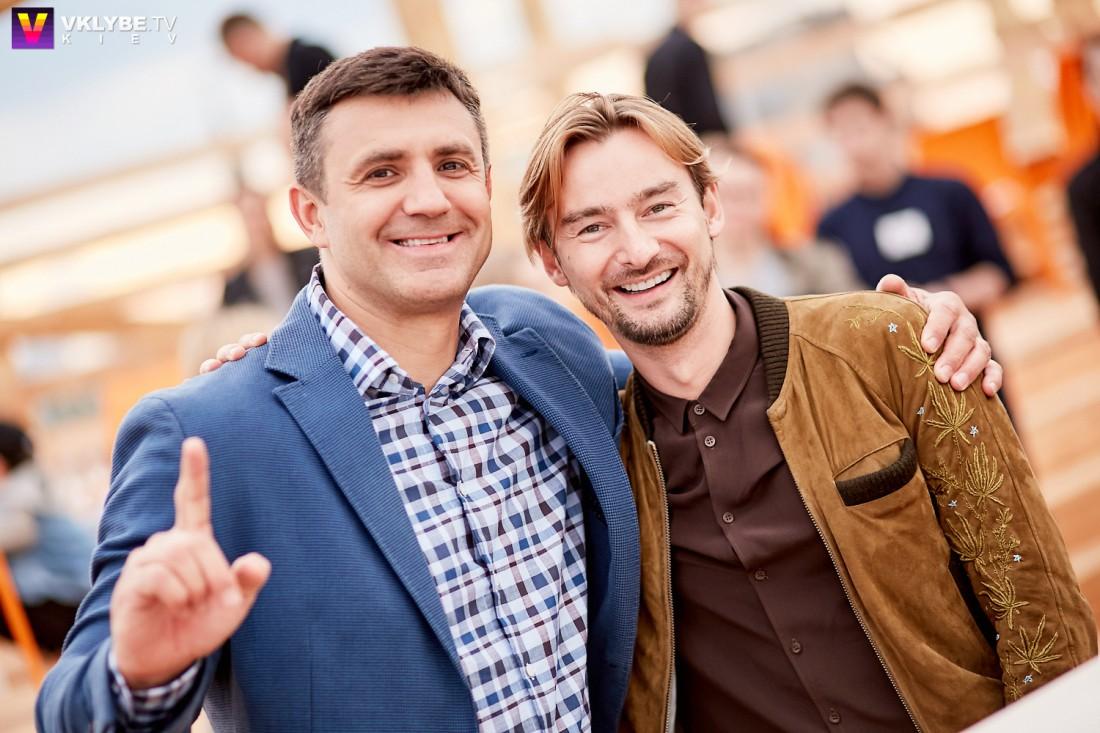 Николай Тищенко и  Алан Бадоев