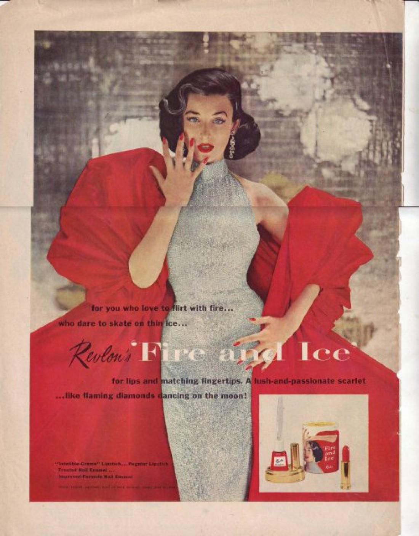 Дориан Лей в рекламной кампании Лед и пламя