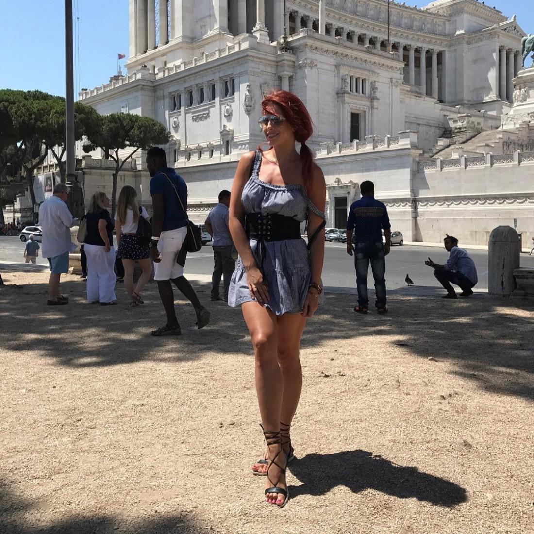 Ольга Романовская в Риме