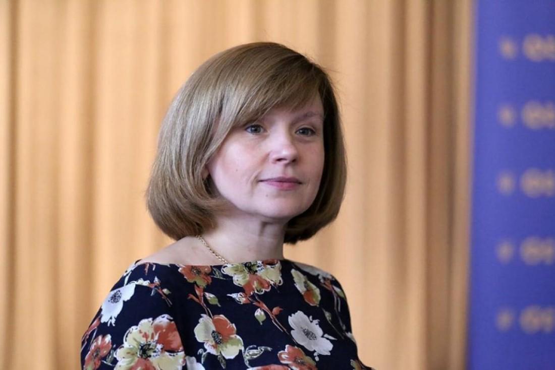 Любомира Мандзий - исполняющая обязанности Министра образования и науки Украины