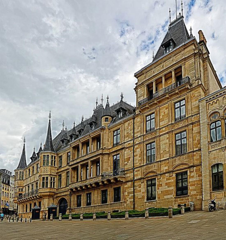 Дворец великого герцога - официальная резиденция Великого Герцога Люксембурга