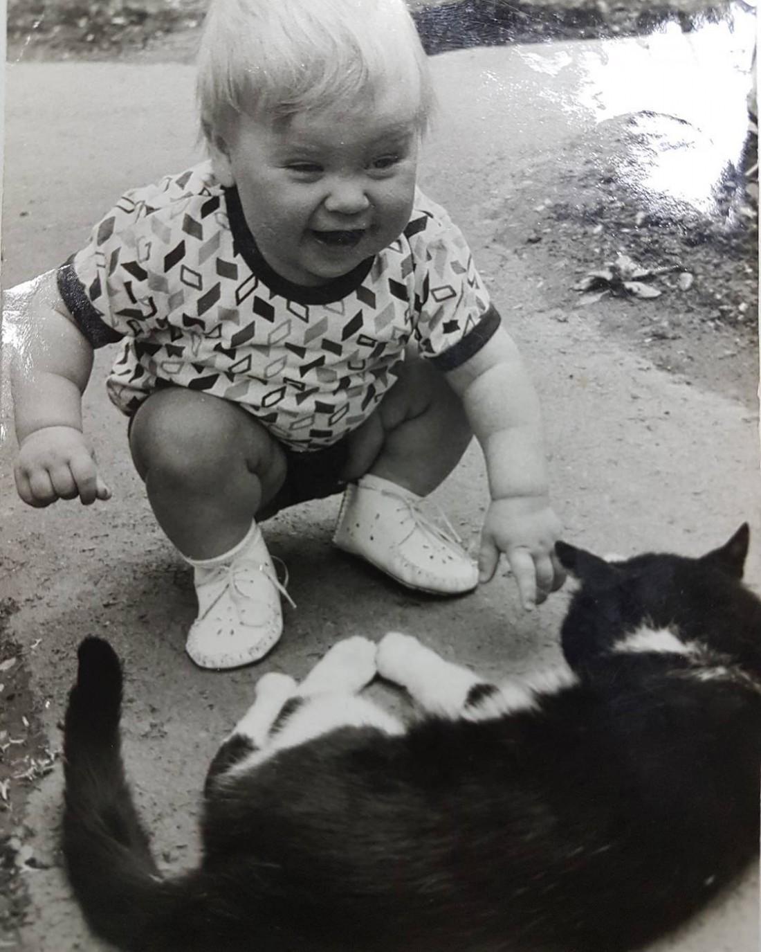 Дмитрий Комаров в детстве