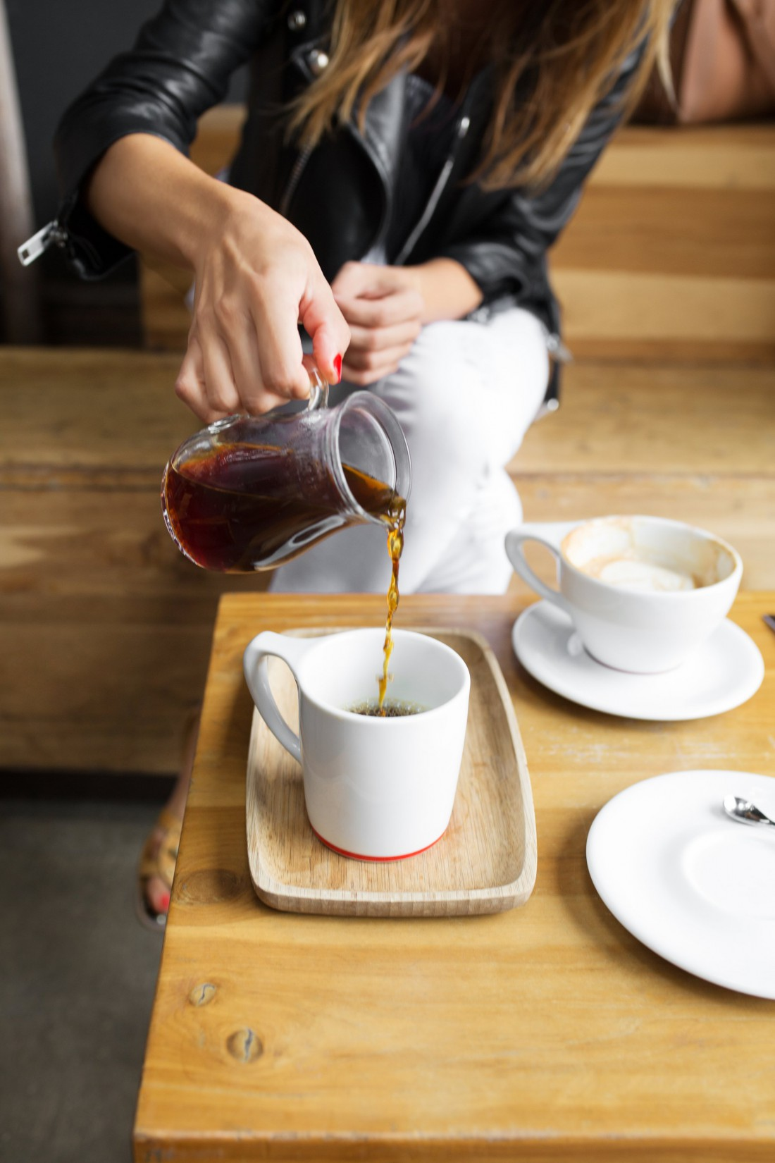 Кофе, настоянное на вине