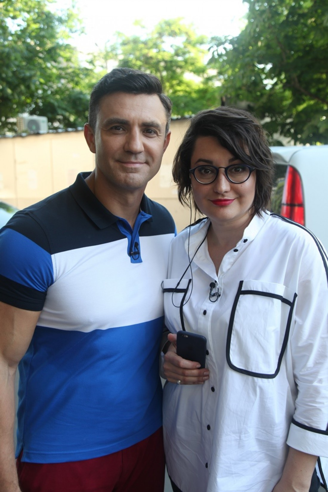Николай Тищенко и Анна Жижа