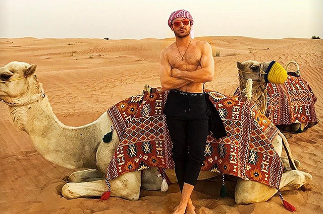 Зак Эфрон в Дубаях
