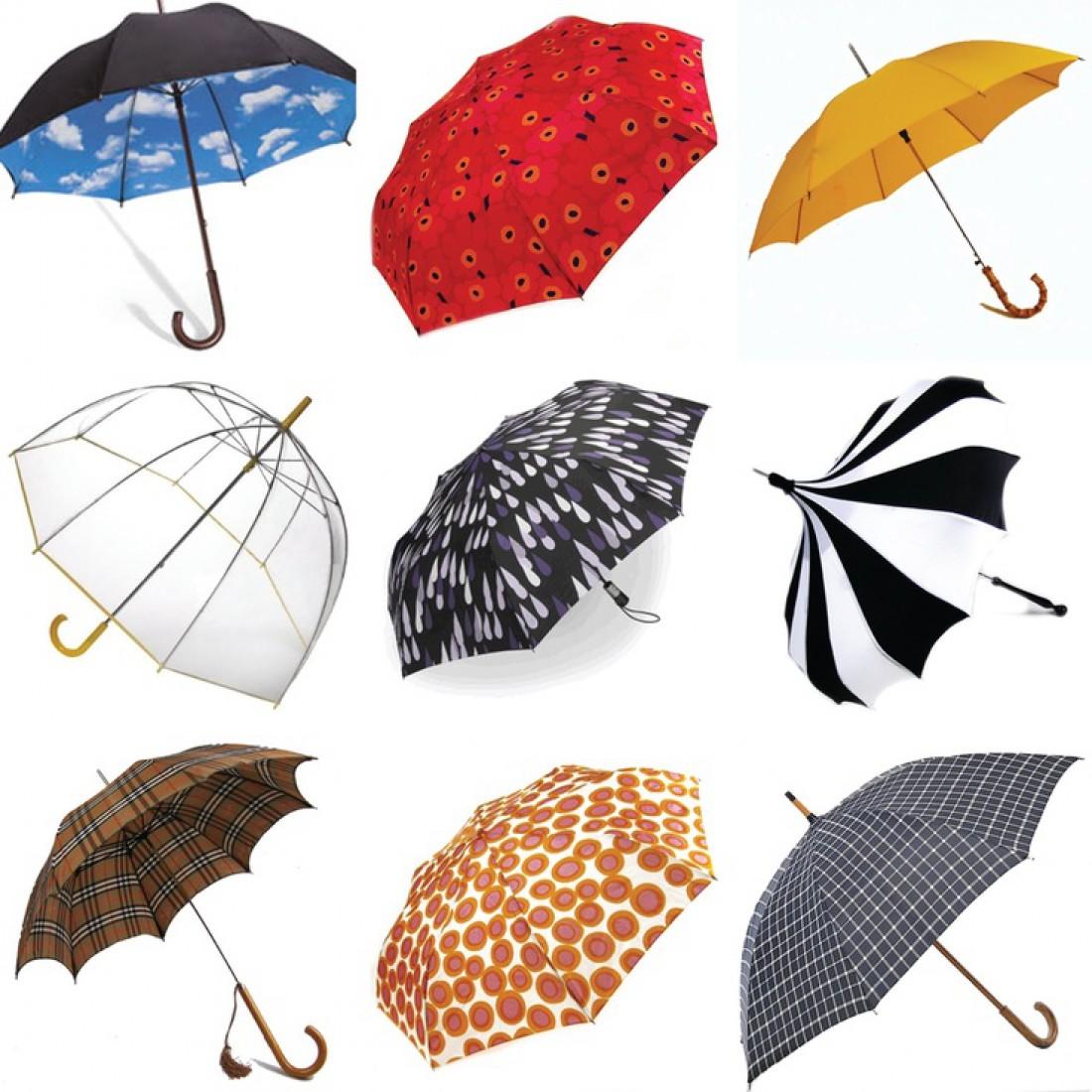 Самые стильние зонты лета 2017