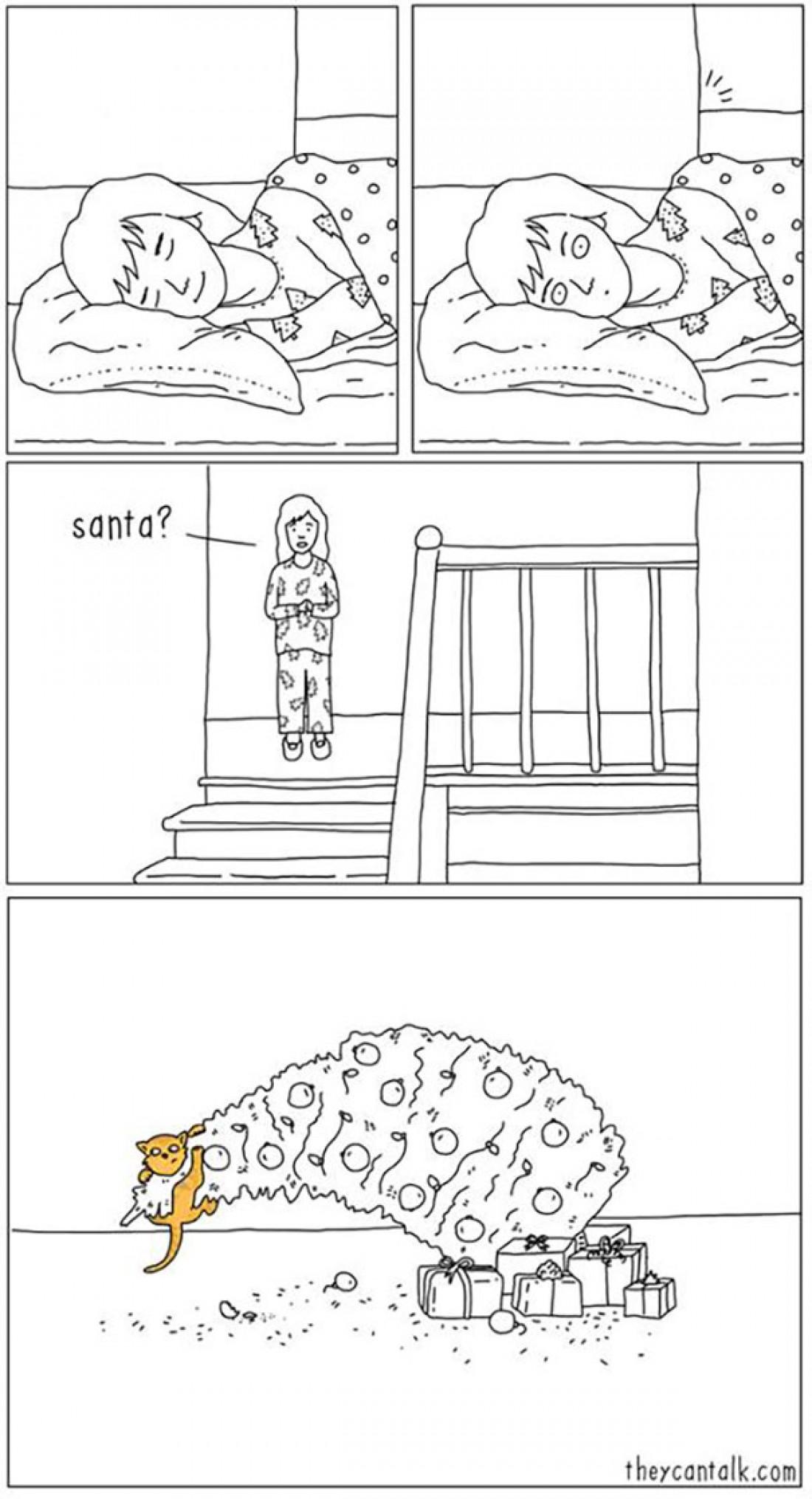Комиксы о неизвестной жизни животных