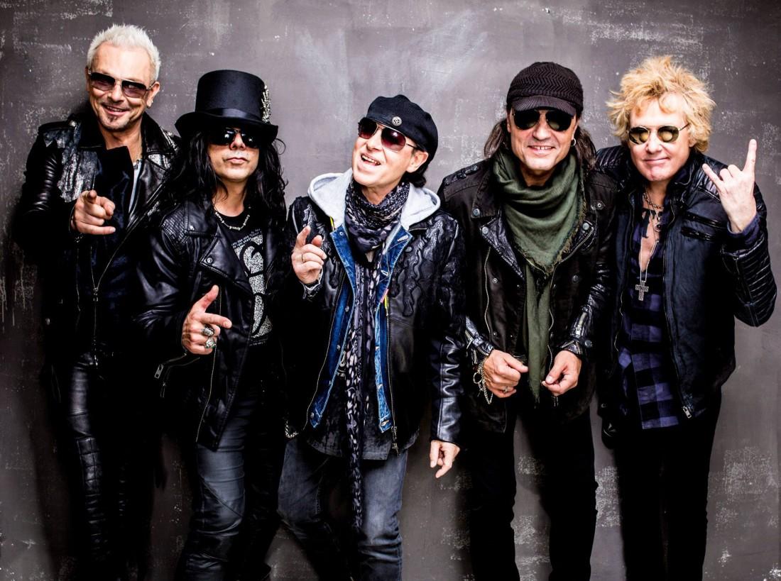 Группа Scorpions поддержала Украину
