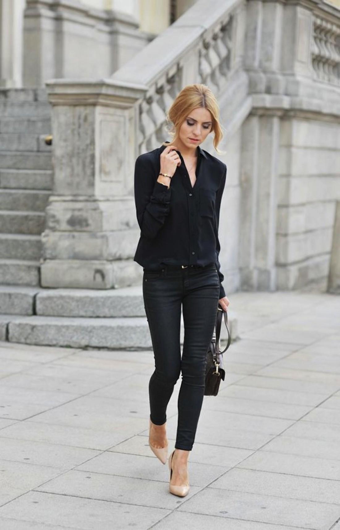 Как правильно одеваться худым девушкам