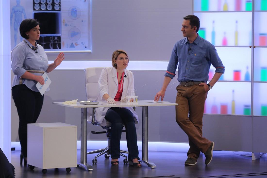 Ведущие Анна Кушнерук и Валерий Ославский расспросили врача-терапевта Ангелину Мороз