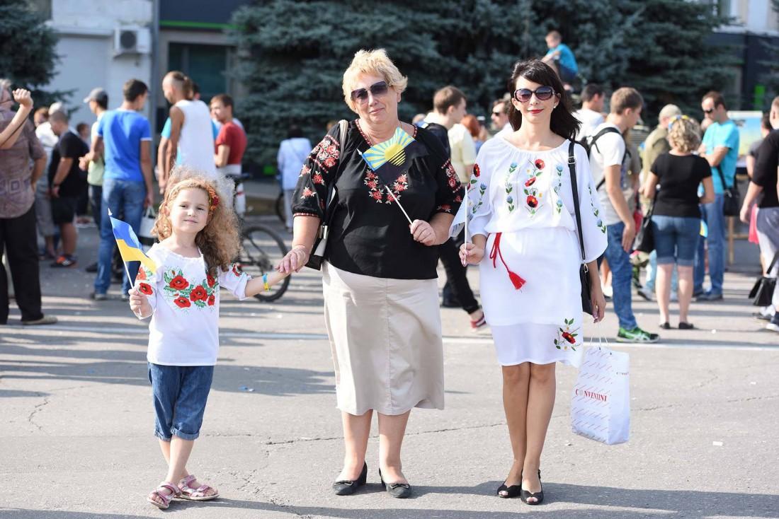 Жители Краматорска