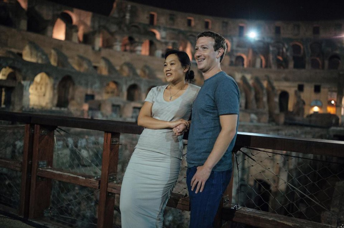 История любви Марка Цукерберга и Присциллы Чан