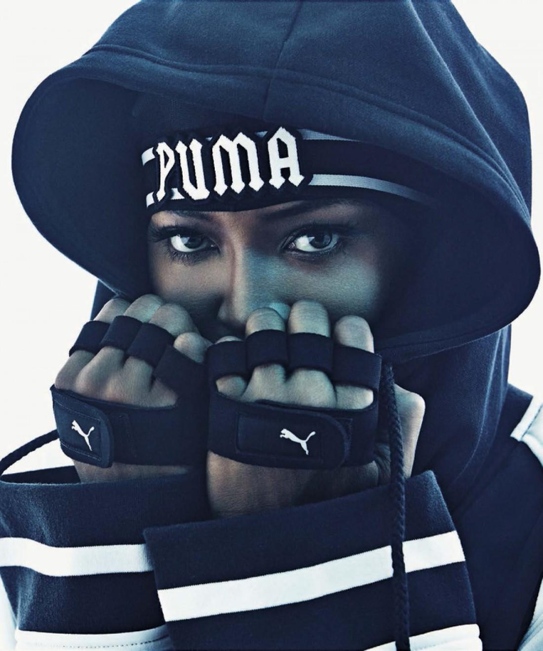Черная пантера на страницах Vogue Italia