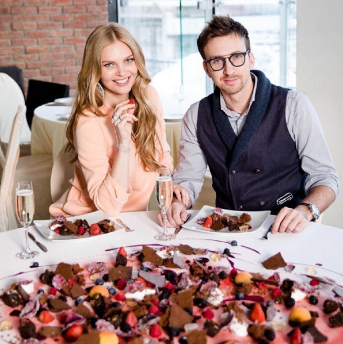 Елена Кулецкая с мужем Станиславом Романовским