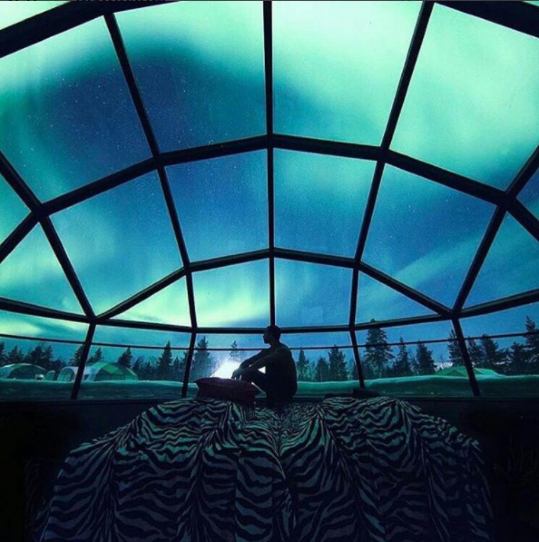 Kakslauttanen Arctic Resort, Финляндия