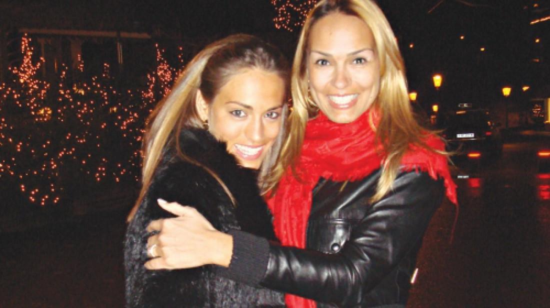 Диана и ее мать Марьяна