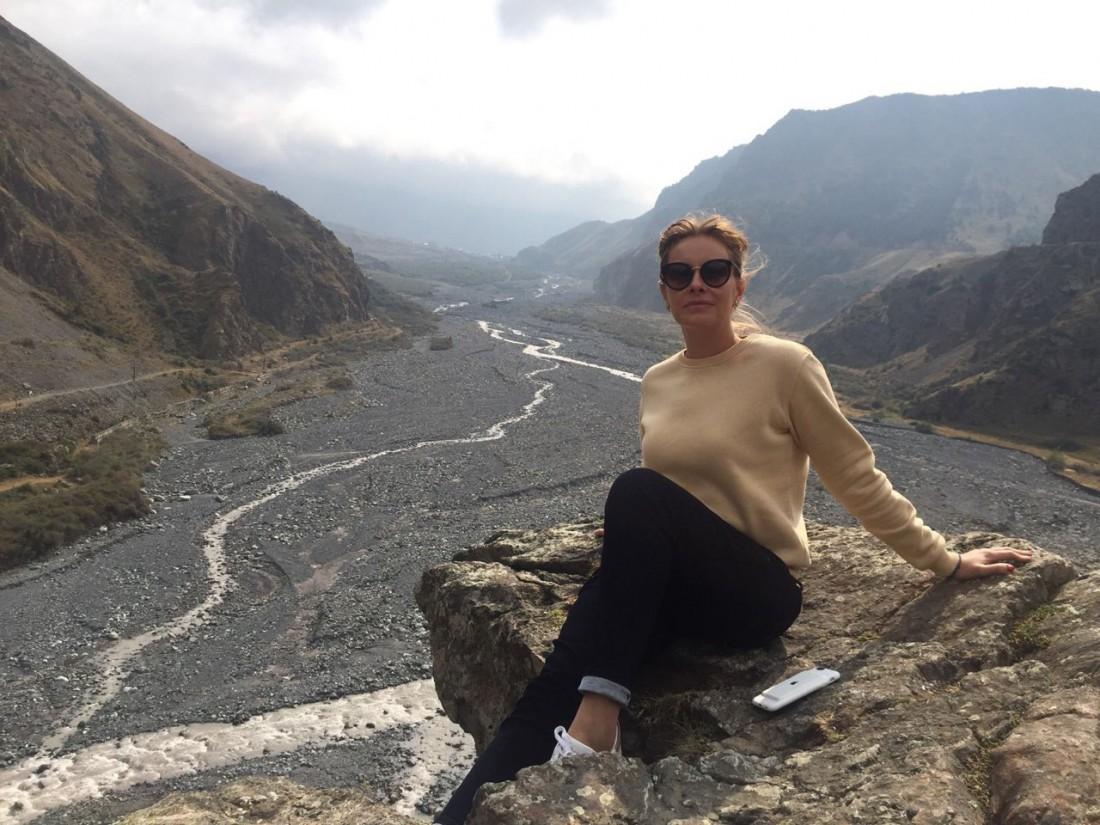 Елена Кравец в Грузии