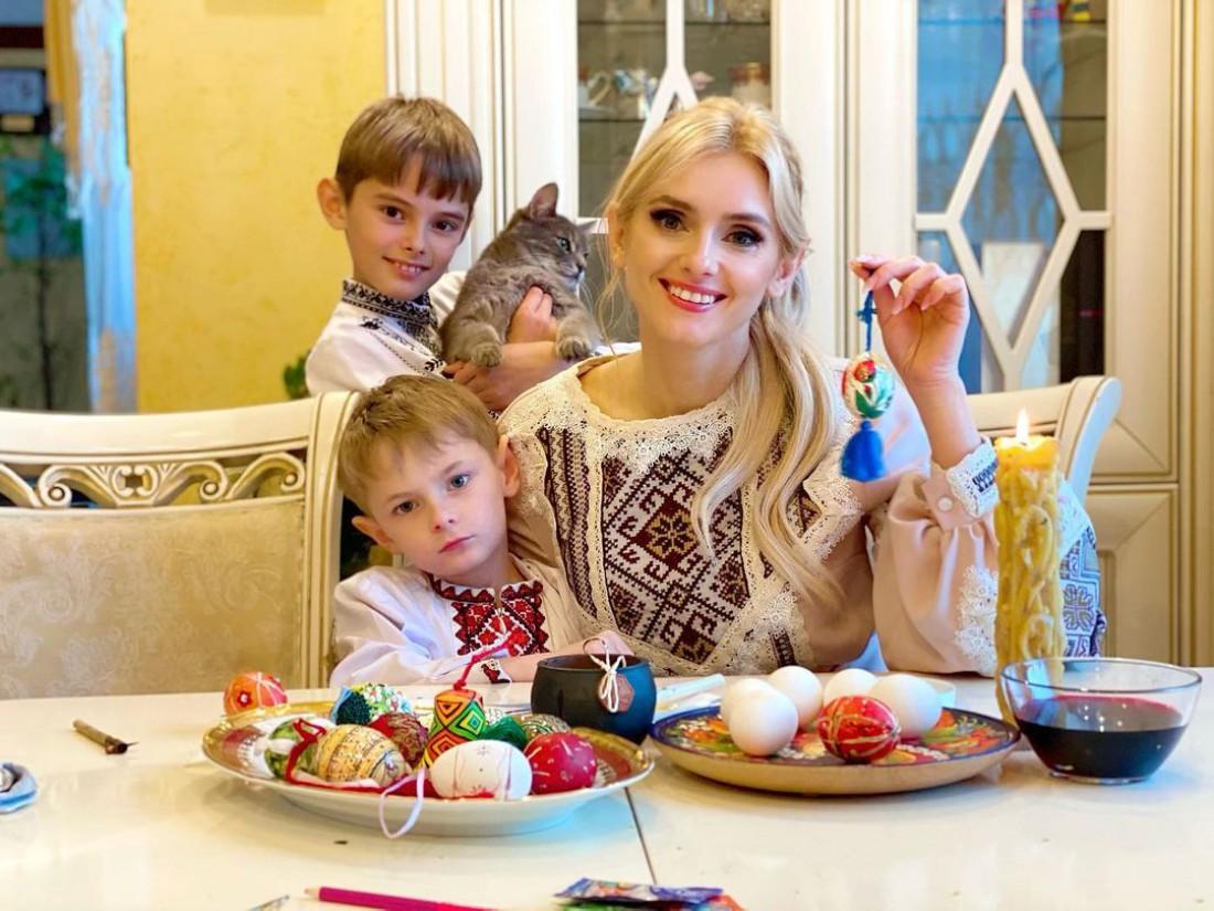 Как Ирина Федишин готовится к Пасхе 2021