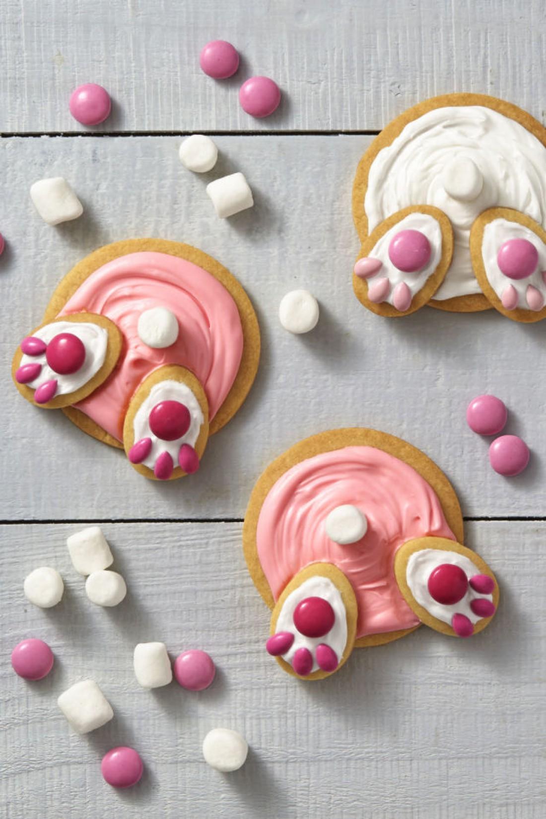 Печенье на Пасху в виде кроликов