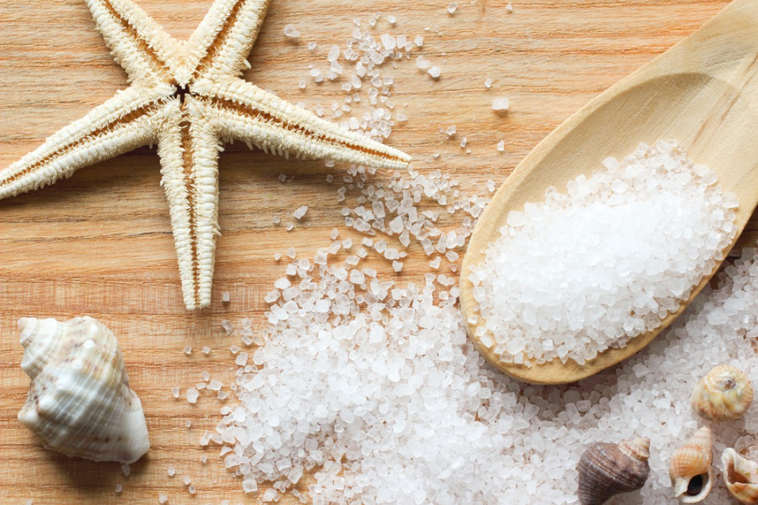 Морская соль: польза для организма
