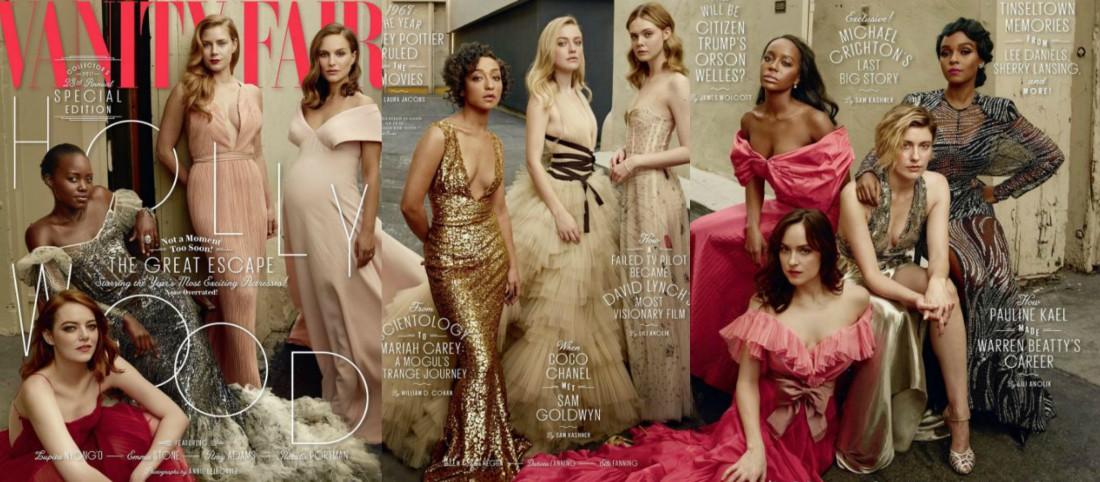 Голливудские актрисы снялись для Vanity Fair