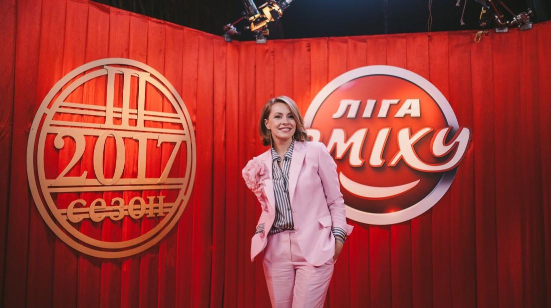 Елена Кравец в наряде собственного дизайна