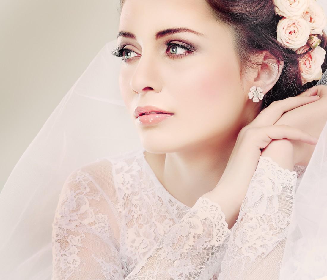 В свадебном макияже не стоит полагаться на удачу