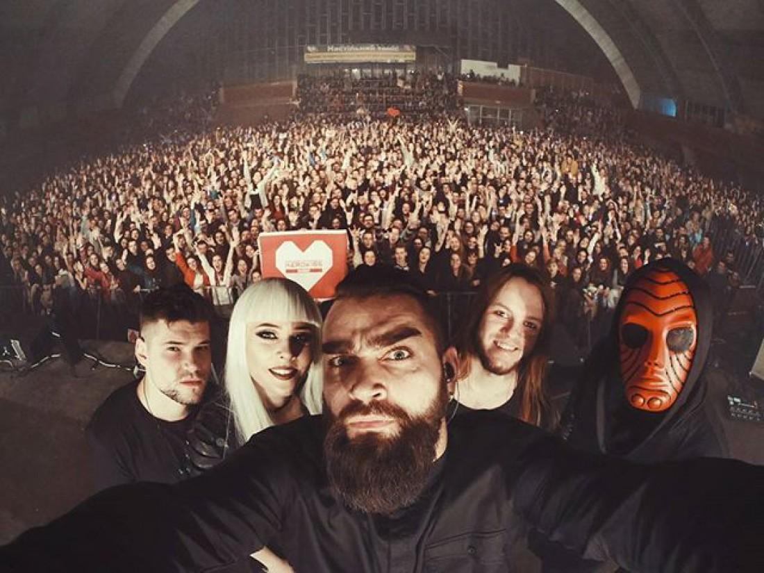 Концерт группы The Hardkiss во Львове