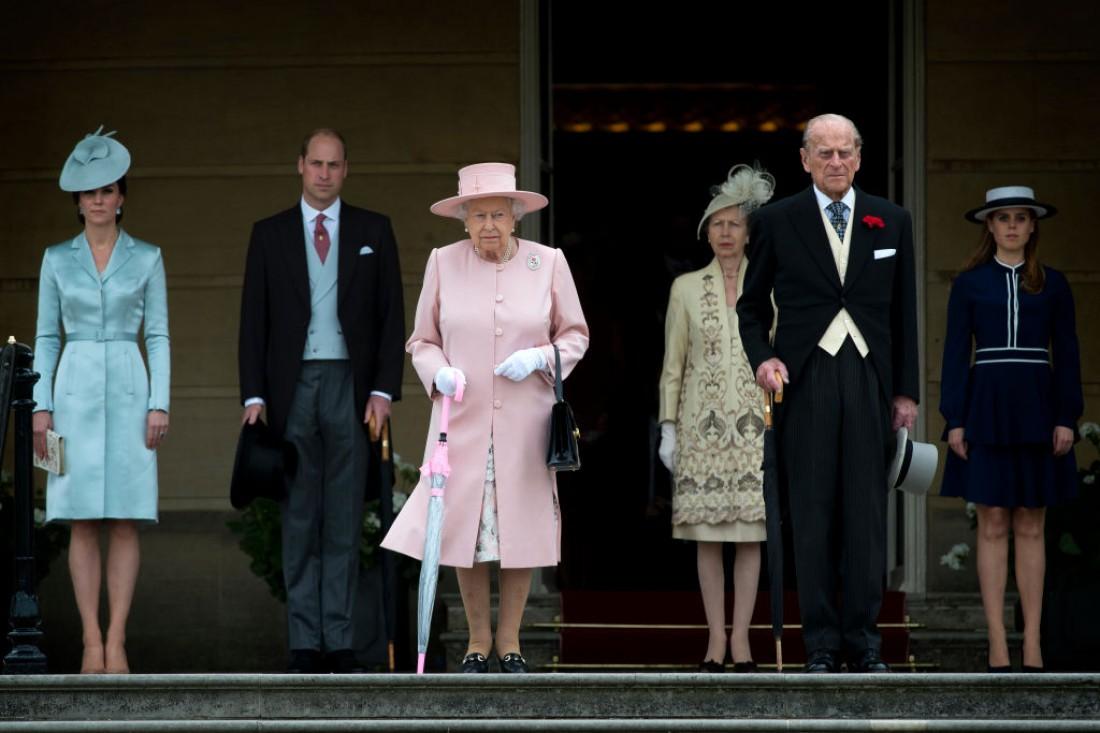 Представители британской королевской семьи