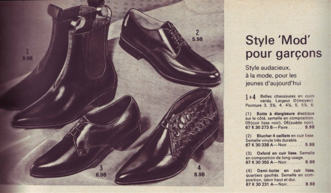 Реклама челси для модов (1967)