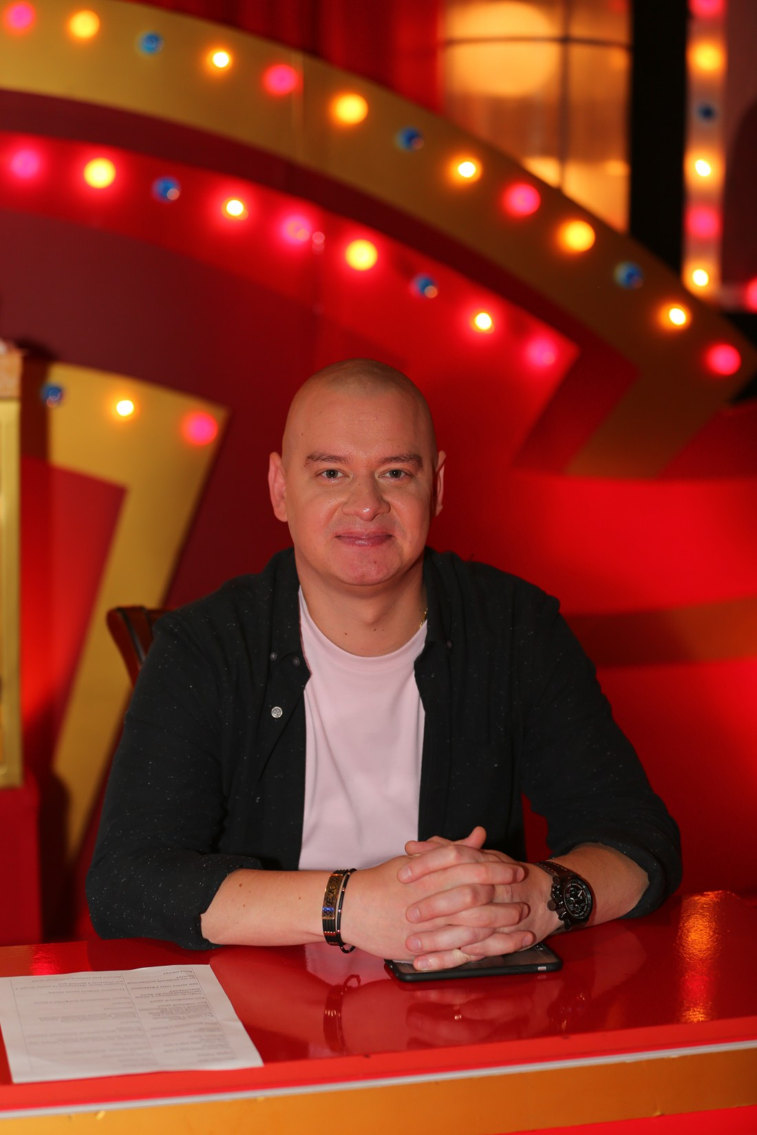 Телеведущий Евгений Кошевой